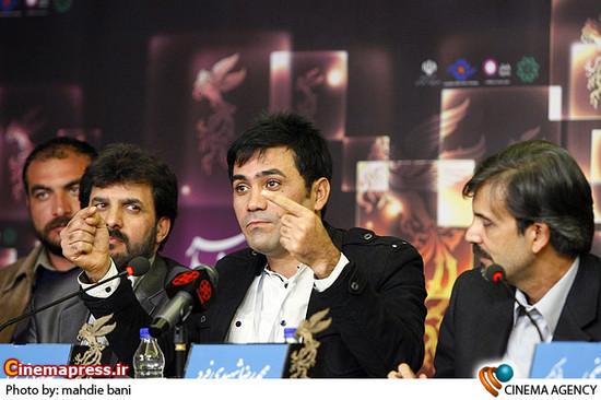 نشست خبری فیلم «او خوب سنگ می زند» در جشنواره فیلم فجر
