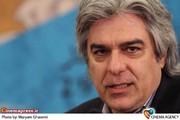 علی سرتیپی تهیه کننده در جلسه رئیس سازمان سینمایی با صنوف سینما
