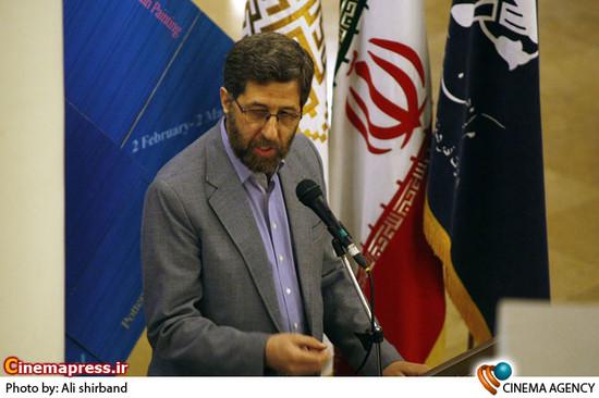 شاه آبادی در افتتاح پنجمین جشنواره تجسمی فجر