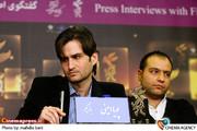 پویا امینی در  نشست فیلم «بزرگ مرد کوچک» در جشنواره فیلم فجر