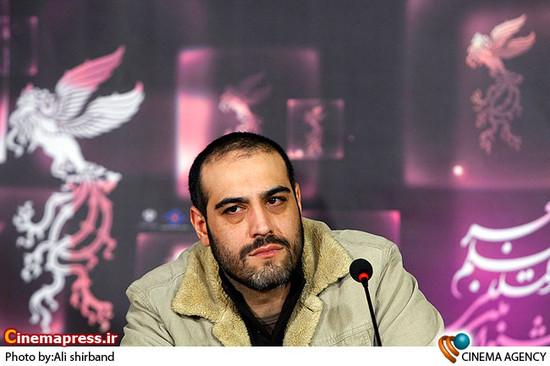 امیر یل ارجمند در نشست فیلم «گام های شیدایی»  در جشنواره فیلم فجر