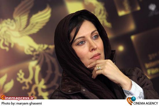 مهتاب کرامتی در نشست خبری فیلم « فرزند چهارم»  به کارگردانی وحید موسائیان