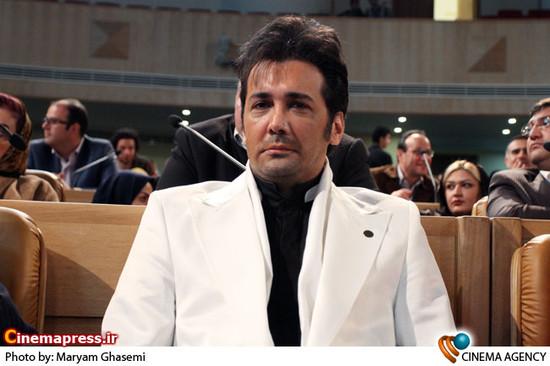 حسام نواب صفوی در نخستین جشن بزرگ هنرمندان