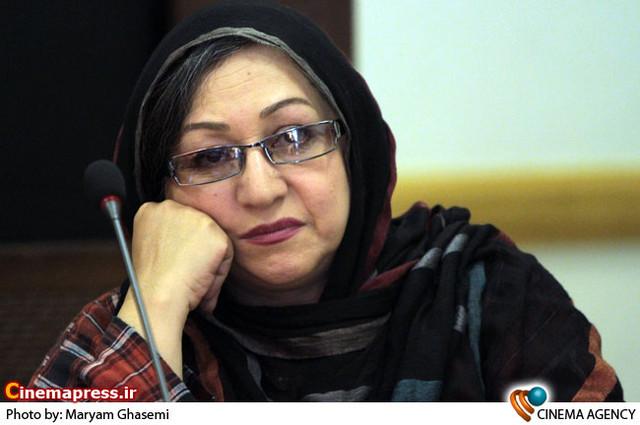 مریم سعادت در نشست خبری تئاتر «سه گانه اورنگ» به کارگردانی محمد حاتمی