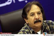 مجید مجیدی کارگردان در نشست خبری نخستین جشنواره طراحی نشانه  پیامبر اکرم