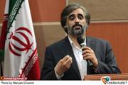 سعید ابوطالب درمراسم رونمایی از فیلم -مسابقه «رالی ایرانی »