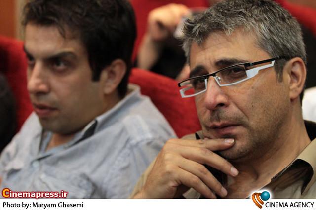 امیر غفارمنش درمراسم رونمایی از فیلم -مسابقه «رالی ایرانی »