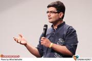 علی عطشانی در مراسم افتتاحیه نخستین فیلم سه بعدی سینمای ایران « آقای الف»