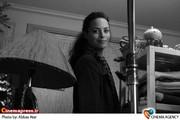 برنیس برژو در پشت صحنه آخرین سکانس فیلم « گذشته» به کارگردانی اصغر فرهادی