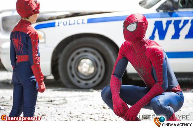 پشت صحنه فیلم سینمایی « مرد عنکبوتی شگفت انگیز2» به کارگردانی مارک وب
