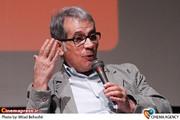 طهماسب صلح جو منتقد در نشست فیلم سینمایی «تلفن همراه رئیس جمهور » در فرهنگسرای ارسباران