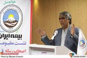 سید ضیاء هاشمی ریئس  جامعه صنفی تهیه کنندگان در نشست با بیمه ایران