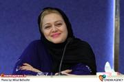 بهاره رهنما درنشست خبری نمایش «پسران آفتاب» به کارگردانی سیامک صفری