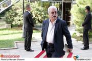 هادی مرزبان در مراسم دیدار «علی جنتی » وزیر فرهنگ و ارشاد اسلامی با هنرمندان