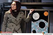 شایسته ایرانی در نمایش ناتمام به کارگردانی سیما تیر انداز