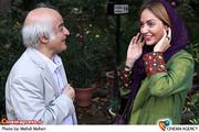 مهناز افشار و جیرانی  در نمایش فیلم سینمایی «پل چوبی » با حضور سینماگران