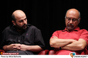 بابک کریمی و علی مصفا در نشست نقد وبررسی فیلم «گذشته» در فرهنگسرای ارسباران