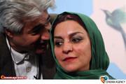 تهمینه میلانی کارگردان سینمای ایران و محمد نیک بین
