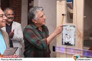 رضا کیانیان در آیین افتتاح نمایش «سنگ ها در جیب هایش» به کارگردانی پارسا پیروزفر