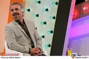علیرضا غفاری در   پشت صحنه ضبط برنامه تلویزیونی «امروز، هنوز تموم نشده» در شبکه یک