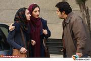 هانیه توسلی و فرهاد اصلانی در فیلم سینمایی «به خاطر پونه» به کارگردانی هاتف علیمردانی