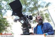 داوود میرباقری کارگردان  در پشت صحنه مجموعه «شاهگوش »
