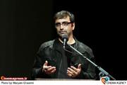 امین زندگانی در  مراسم اکران خصوصی فیلم «آزادراه» به کارگردانی عباس رافعی