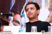 احسان عبدی پور کارگردان در نشست نقد و بررسی فیلم «تنهای تنهای تنها »در سینما فلسطین