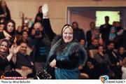 بهاره رهنما در مراسم اختتامیه جشنواره فیلم شاپرک های شهر در سالن همایش های برج میلاد