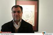 مهدی فضائلی در مراسم اختتامیه نمایشگاه خوشنویسی زنده یاد «حبیب الله فضائلی»