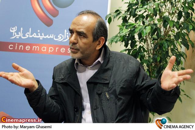 محسن علی اکبری در  نشست فیلم «استرداد» در خبرگزاری سینماپرس