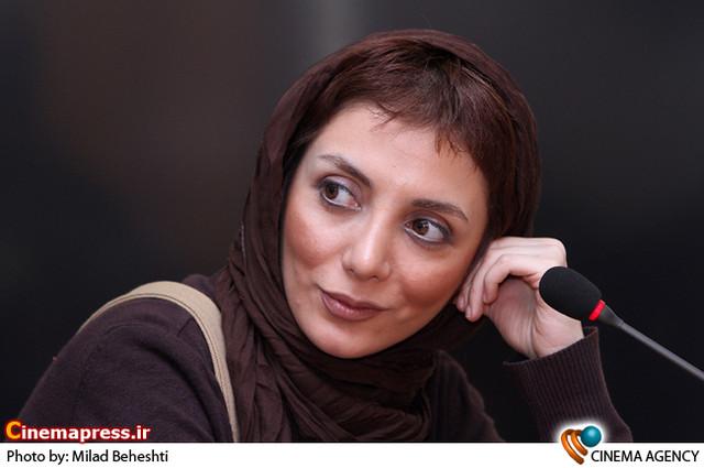 رویا میرعلمی در نشست خبری نمایش «در شوره زار» به کارگردانی حسین کیانی