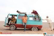نمایی ازپشت صحنه فیلم «خسته نباشید» به کارگردانی محسن قرایی وافشین هاشمی