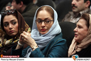 مهناز افشار در مراسم هفتمین جشن انجمن منتقدان سینما