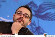 سام قریبیان در نشست خبری فیلم «خط ویژه » در جشنواره فیلم فجر