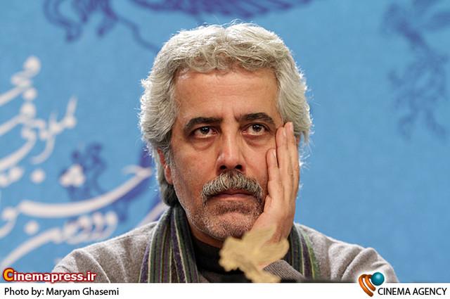 احمدرضا درویش در نشست خبری فیلم «رستاخیز» در جشنواره فیلم فجر