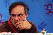 قطب الدین صادقی در نشست خبری فیلم «انارهای نارس» در جشننواره فیلم فجر