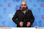 رضا عطاران در  نشست خبری فیلم «رد کارپت» در جشنواره فیلم فجر