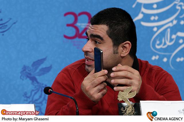 امیر نوری در  نشست خبری فیلم «رد کارپت» در جشنواره فیلم فجر