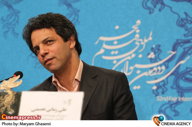 علی زمانی عصمتی در نشست خبری فیلم «شیفتگی» در جشنواره فیلم فجر