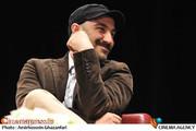 محسن تنابنده در مراسم تقدیر از عوامل سریال پایتخت 3