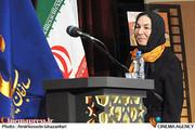 پروانه معصومی در اختتامیه سومین جشنواره سراسری فیلم کوتاه بسیج