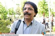 علیرضا افتخاری در تشییع پیکر مرحوم استاد محمدرضا لطفی