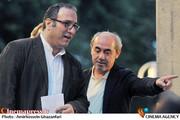 کمال تبریزی و رضا میرکریمی در پنجمین شب کانون كارگردانان