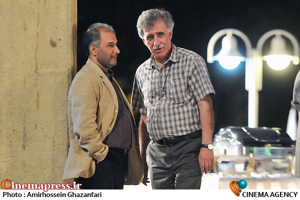 محمدمهدی عسگرپور و همایون اسعدیان در پنجمین شب کانون كارگردانان