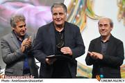 تجلیل از رسول صدرعاملی در جشن رسانه ها در حوزه سینما