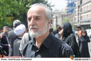 محمدعلی رجبی دوانی در مراسم تشییع پیکر مرحوم عبدالمجید حسینی راد