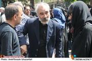 یوسفعلی میرشکاک در مراسم تشییع پیکر مرحوم عبدالمجید حسینی راد
