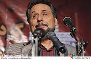 مجید قناد در گردهمایی هنرمندان حامی مردم غزه