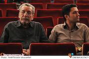 بهمن مفید در مراسم اختتامیه پانزدهمین جشنواره بینالمللی نمایش عروسکی تهران_مبارک